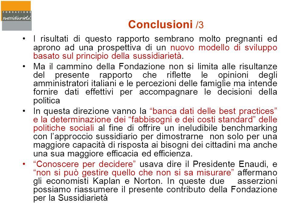 Conclusioni /3