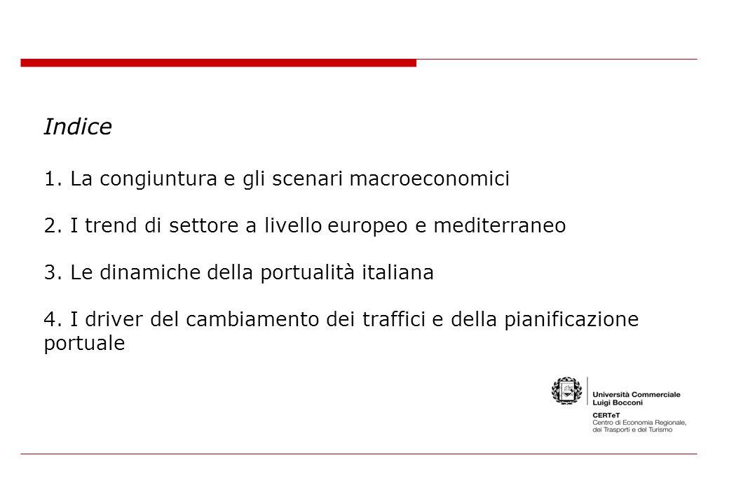 Indice 1. La congiuntura e gli scenari macroeconomici 2