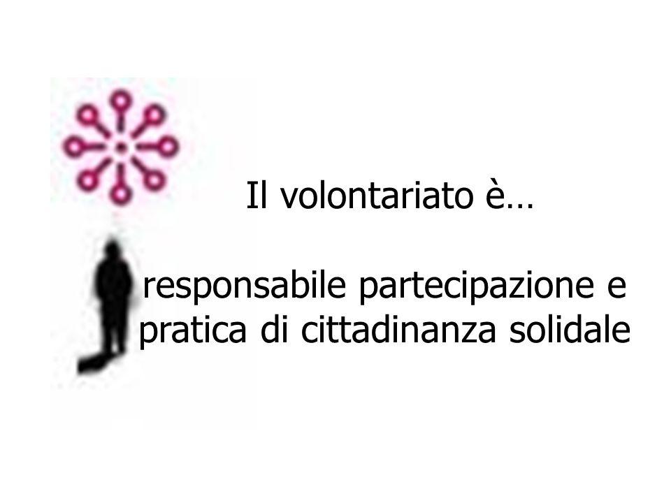 responsabile partecipazione e pratica di cittadinanza solidale