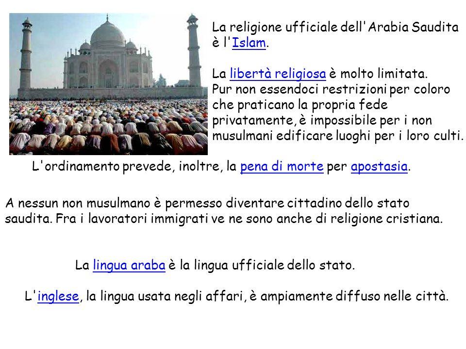 La religione ufficiale dell Arabia Saudita
