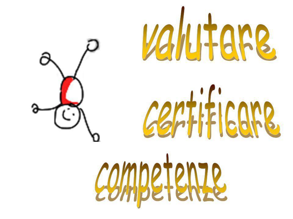 valutare certificare competenze