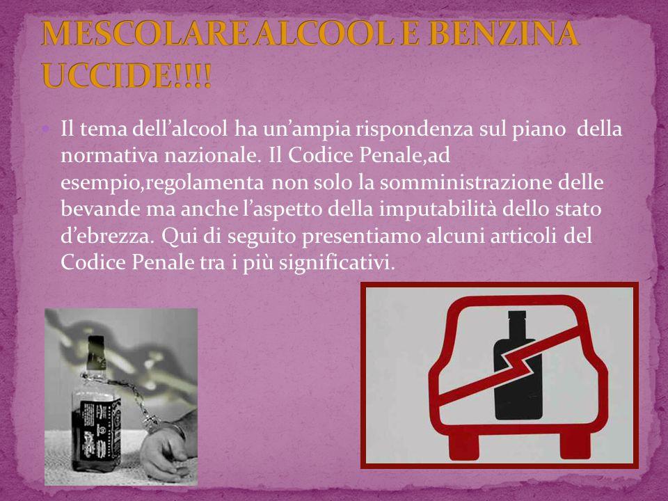 MESCOLARE ALCOOL E BENZINA UCCIDE!!!!
