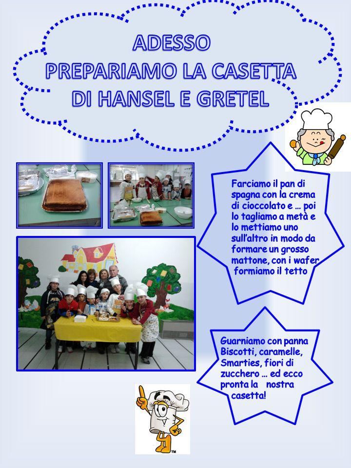 ADESSO PREPARIAMO LA CASETTA DI HANSEL E GRETEL