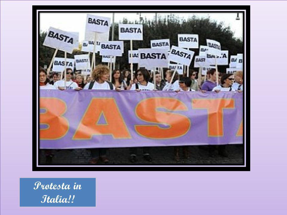 Protesta in Italia!!