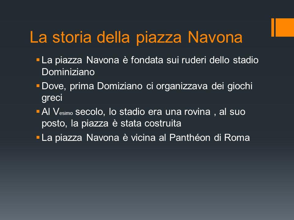 La storia della piazza Navona
