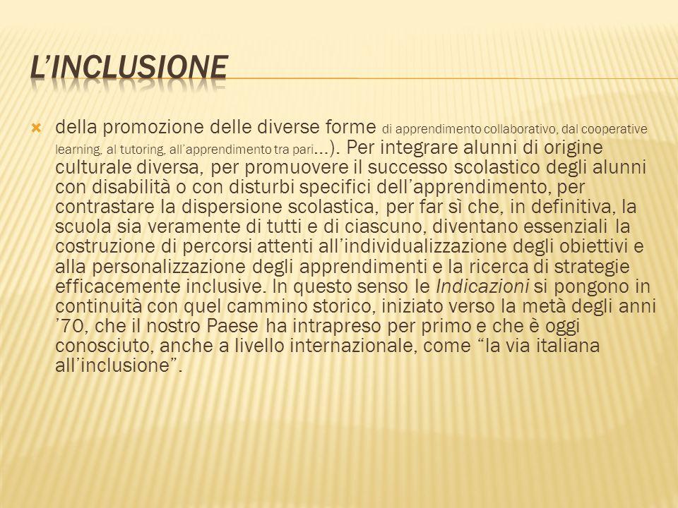 L'inclusione