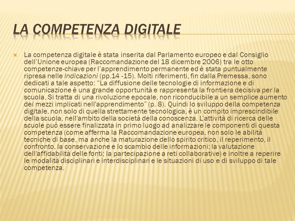 La competenza digitale