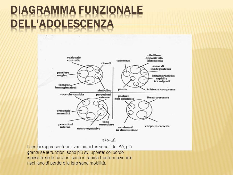 Diagramma funzionale dell adolescenza