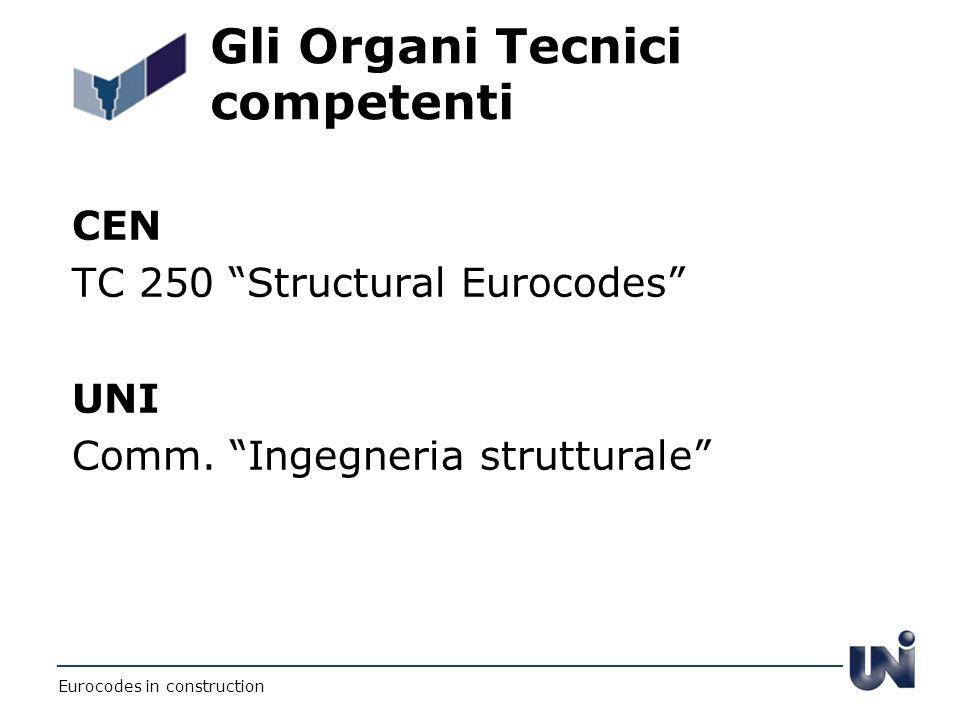 Gli Organi Tecnici competenti