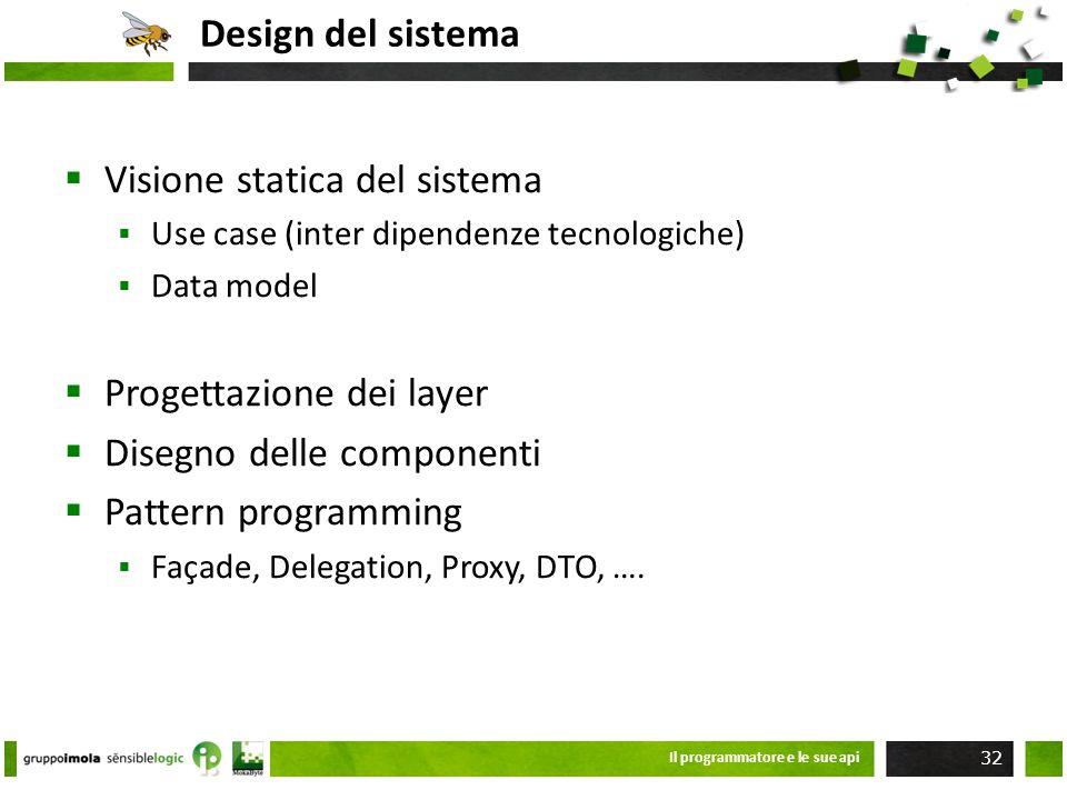 Visione statica del sistema