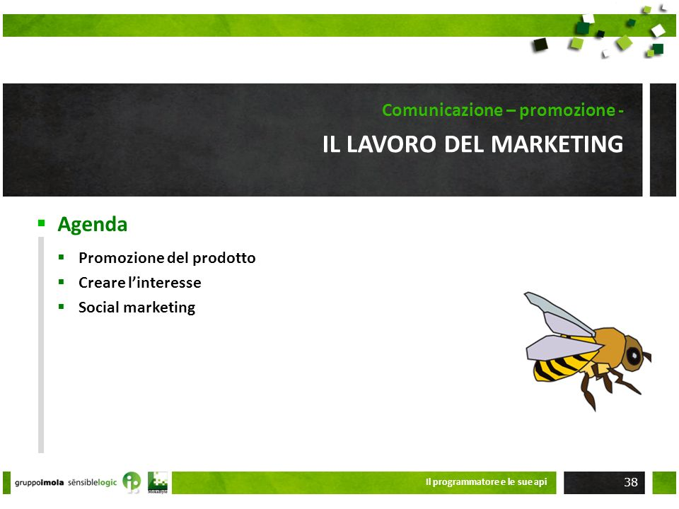 Il lavoro del marketing