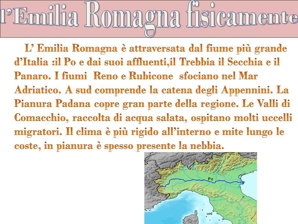 l'Emilia Romagna fisicamente