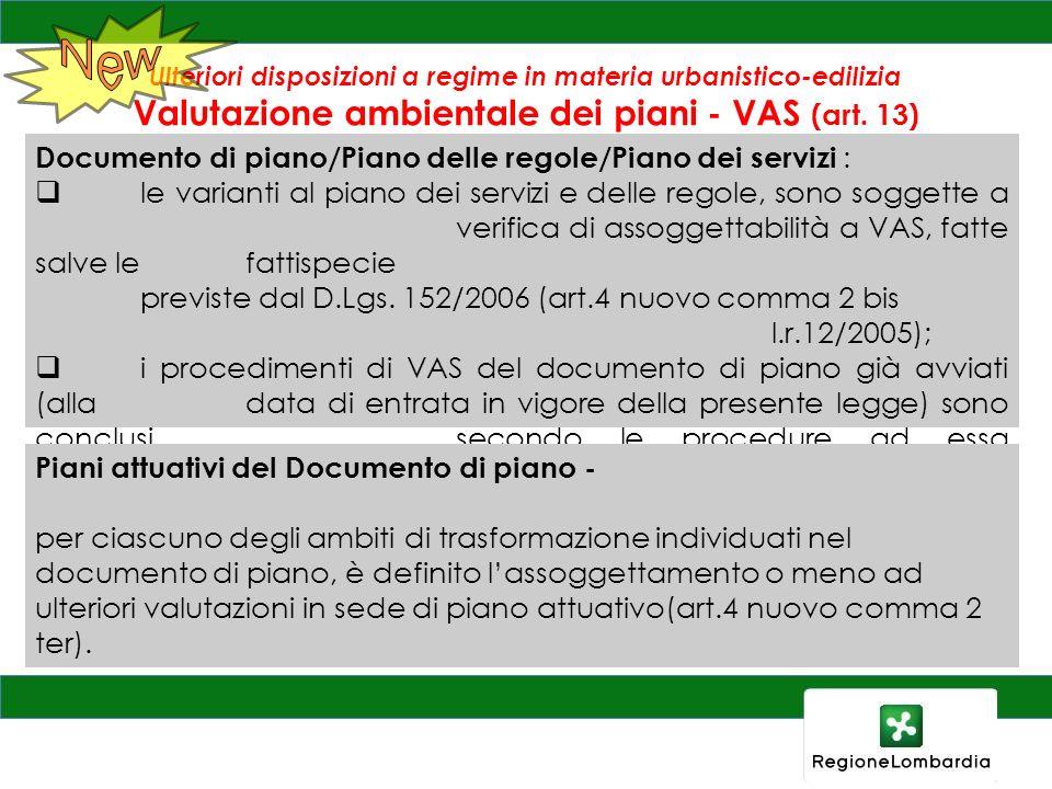 New Documento di piano/Piano delle regole/Piano dei servizi :