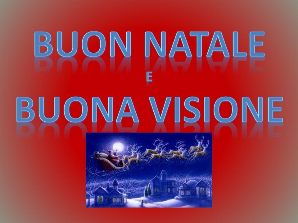 BUON NATALE BUONA VISIONE