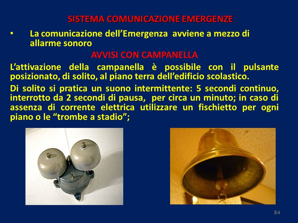 SISTEMA COMUNICAZIONE EMERGENZE