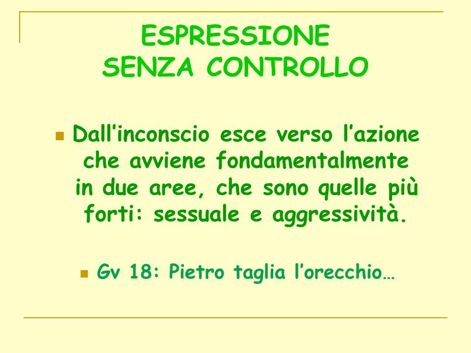 ESPRESSIONE SENZA CONTROLLO