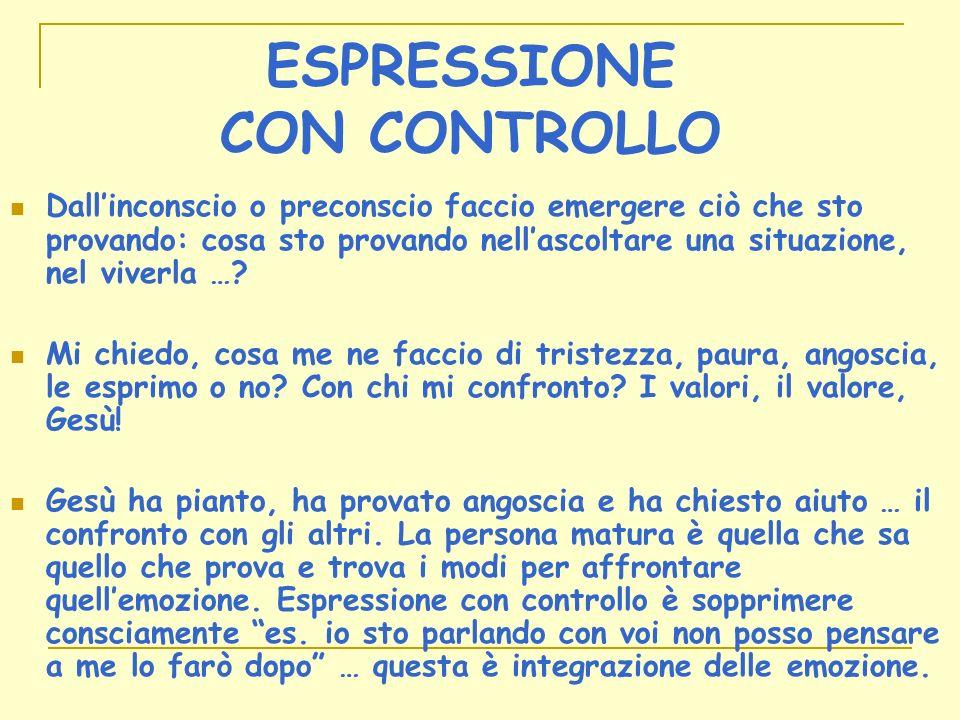 ESPRESSIONE CON CONTROLLO
