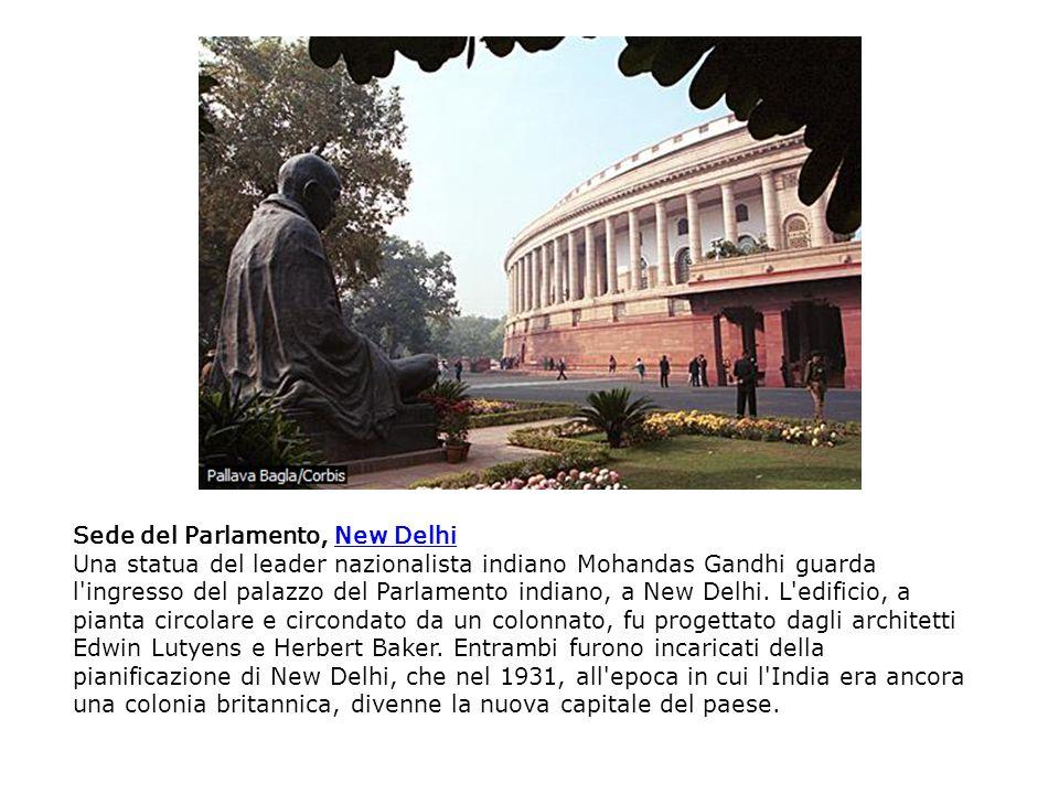 Sede del Parlamento, New Delhi