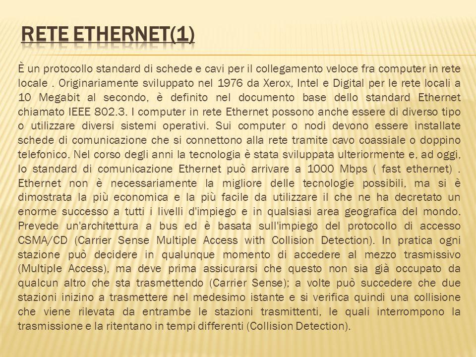 Rete Ethernet(1)