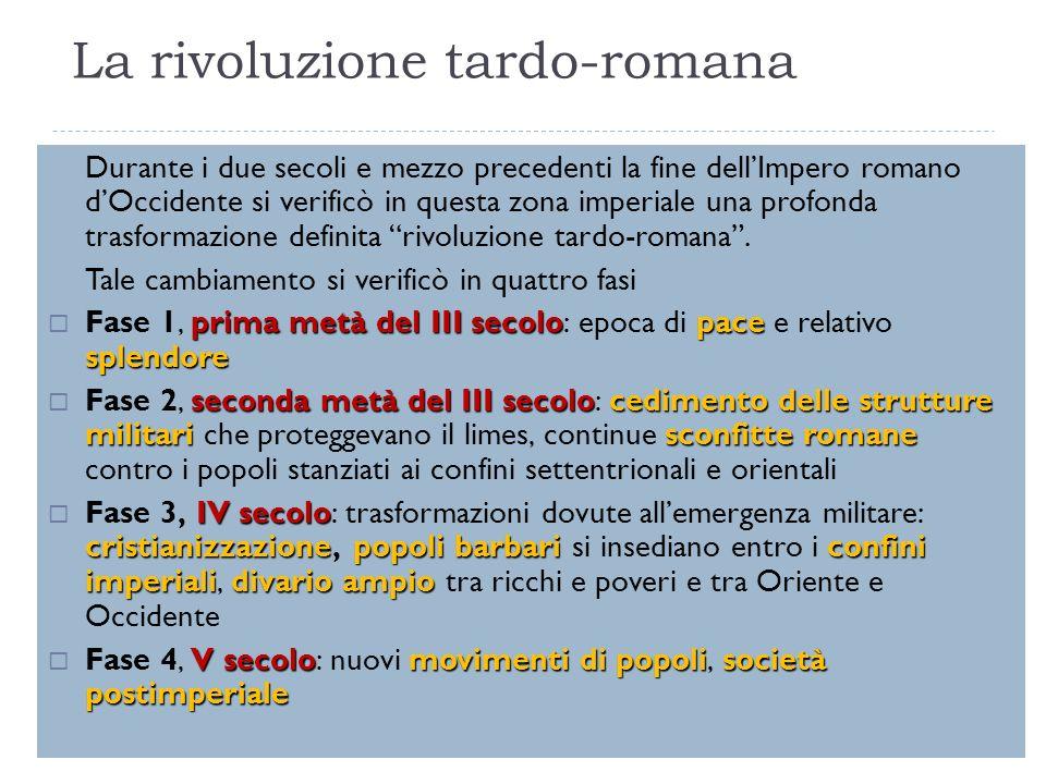 La rivoluzione tardo-romana