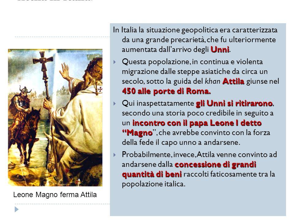 Attila in Italia.
