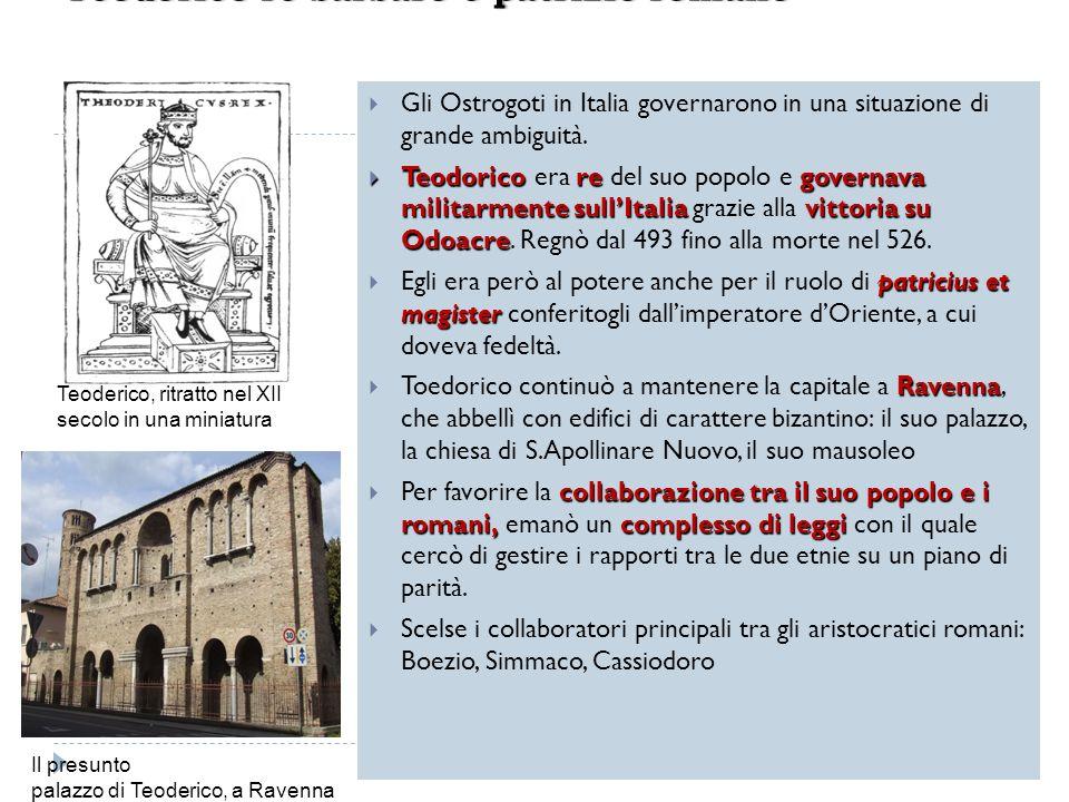 Teodorico re barbaro e patrizio romano