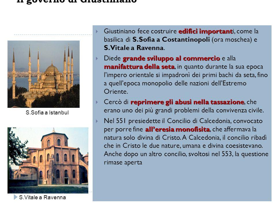 Il governo di Giustiniano