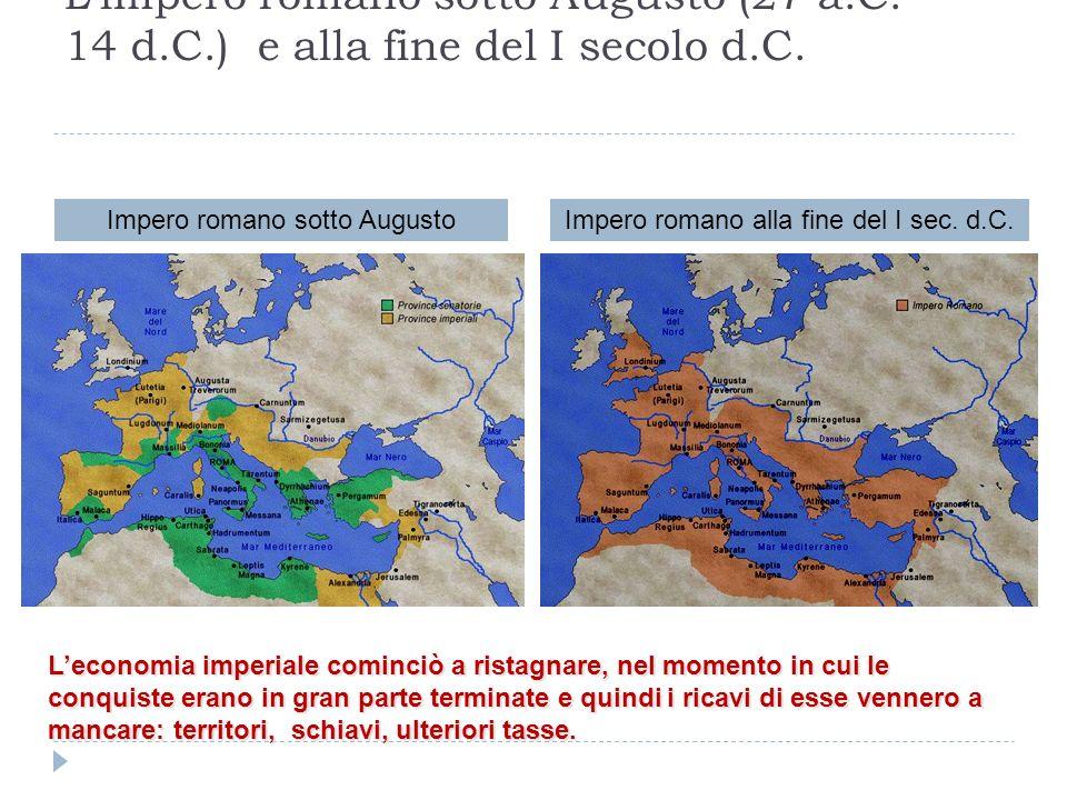 L'impero romano sotto Augusto (27 a. C. – 14 d. C