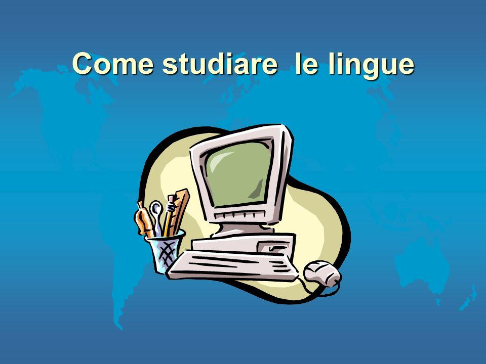Come studiare le lingue