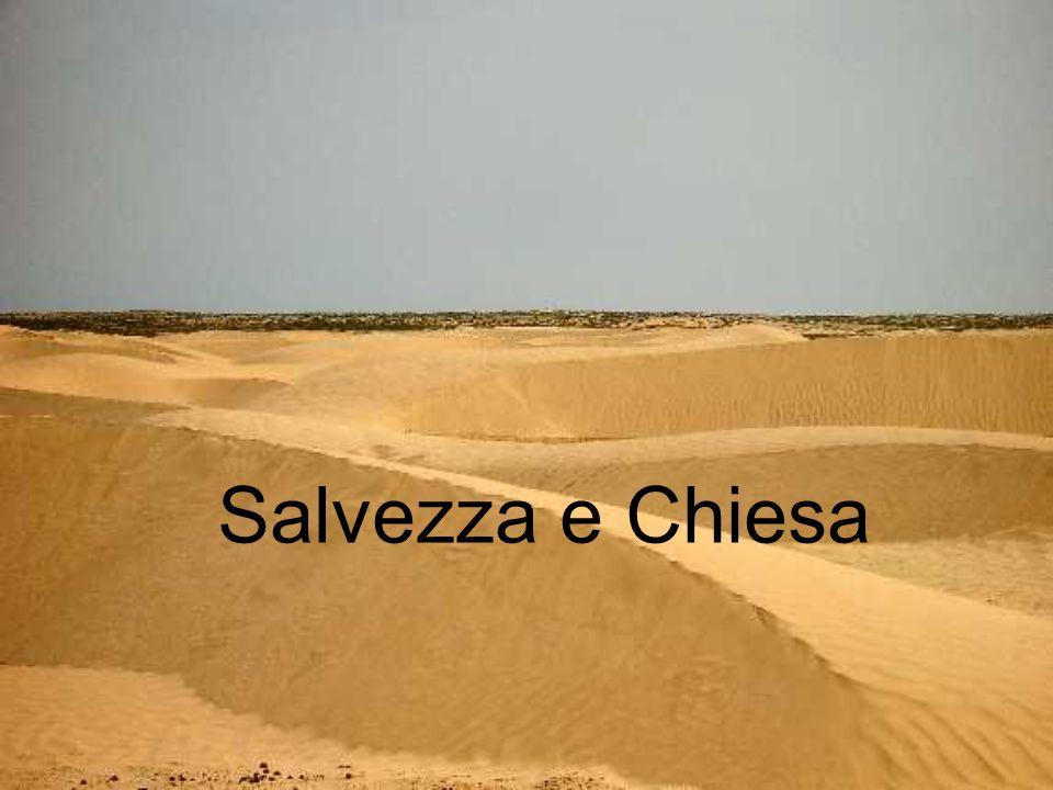 Salvezza e Chiesa