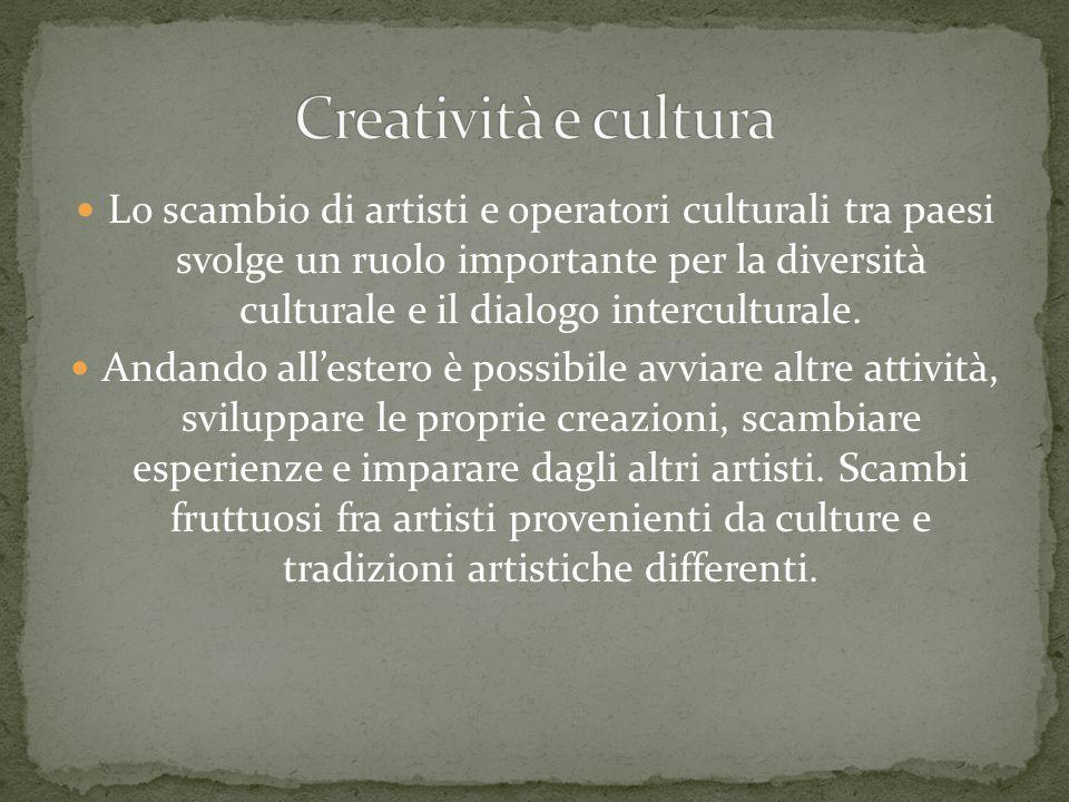 Creatività e cultura