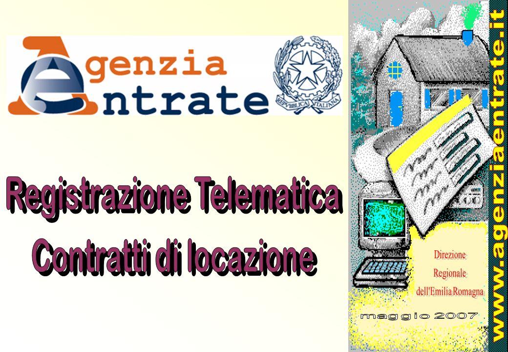 Registrazione Telematica Contratti di locazione