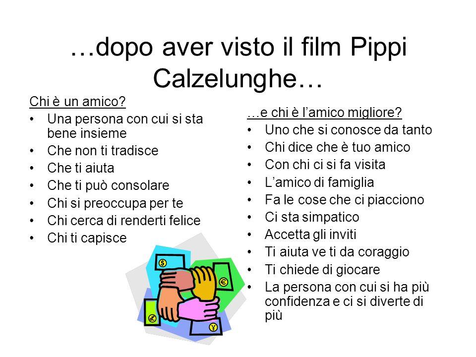 …dopo aver visto il film Pippi Calzelunghe…