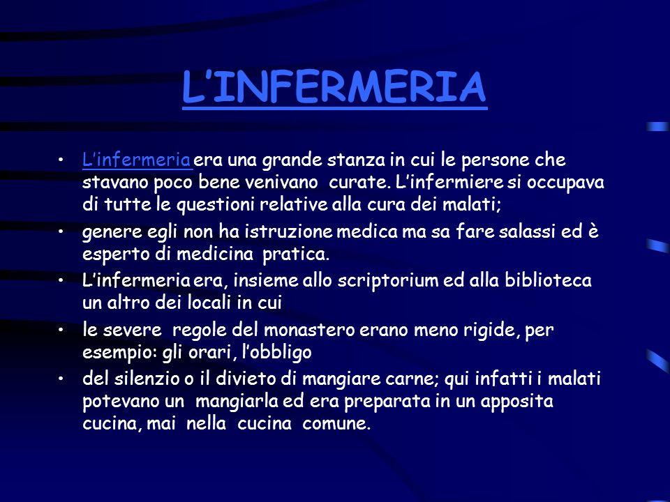 L'INFERMERIA