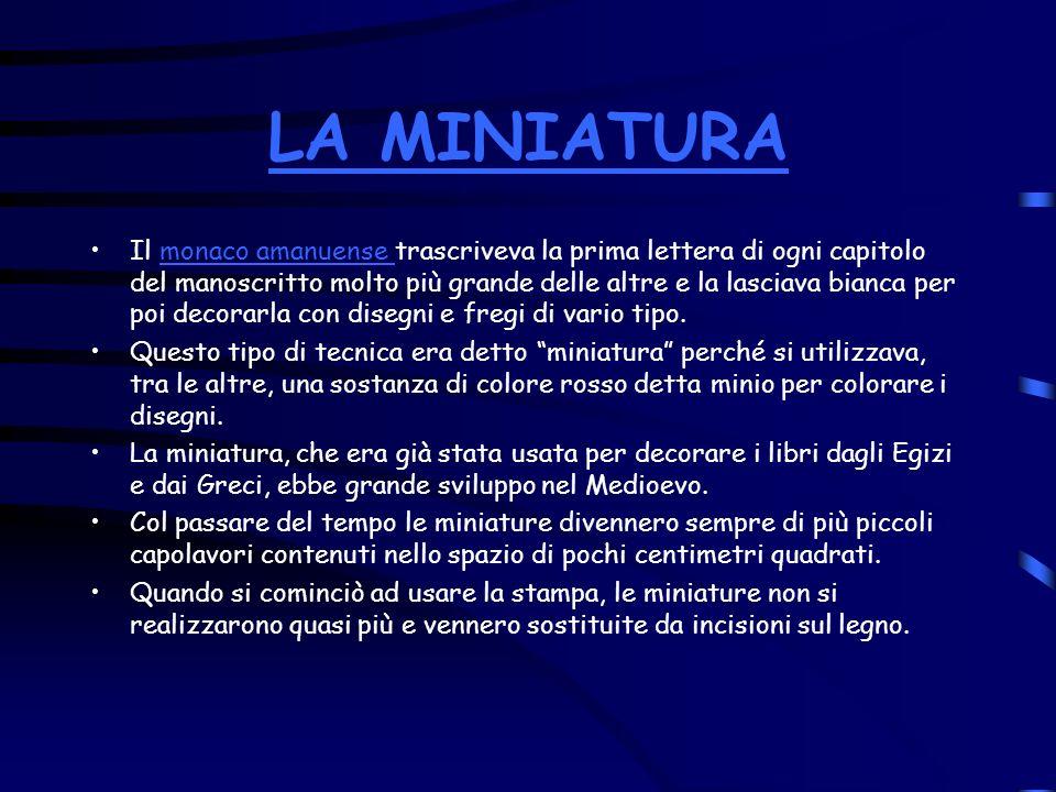 LA MINIATURA