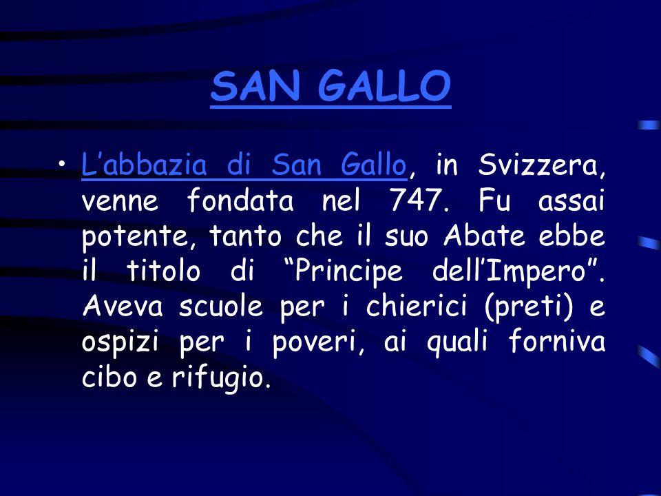 SAN GALLO