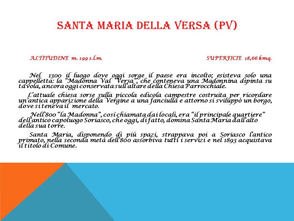 SANTA MARIA DELLA VERSA (PV)