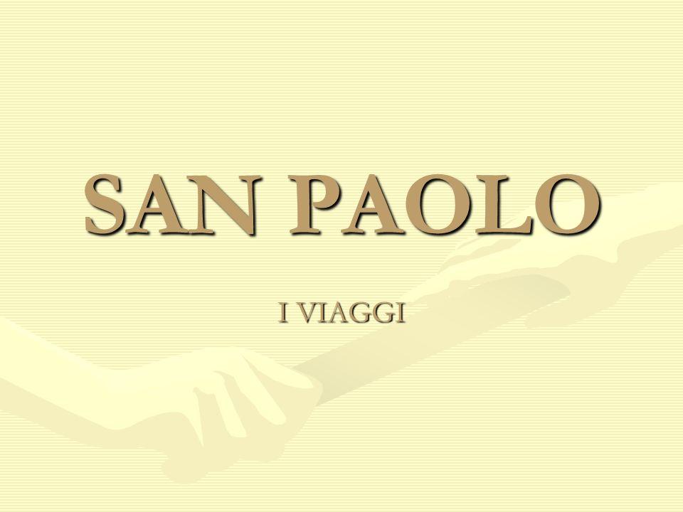 SAN PAOLO I VIAGGI