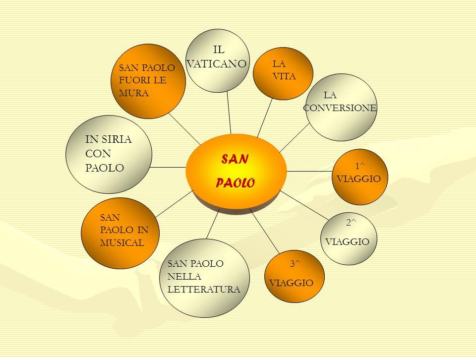 PAOLO IL VATICANO LA CONVERSIONE IN SIRIA CON PAOLO SAN 2^ 3^ LA VITA