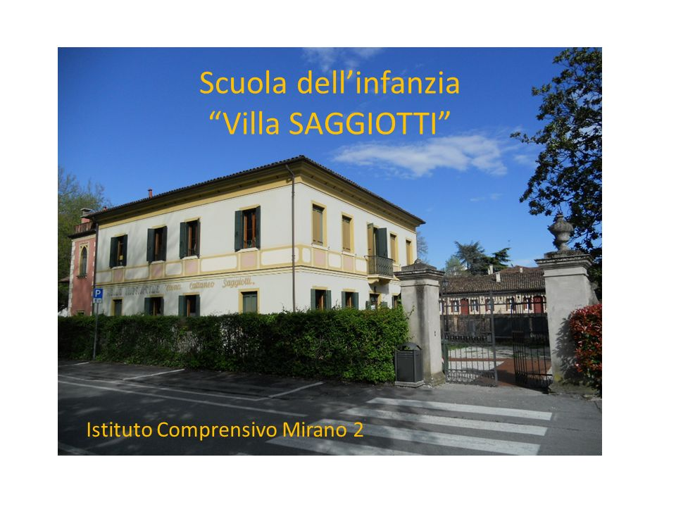 vi Scuola dell'infanzia Villa SAGGIOTTI