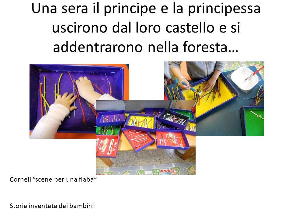 Una sera il principe e la principessa uscirono dal loro castello e si addentrarono nella foresta…