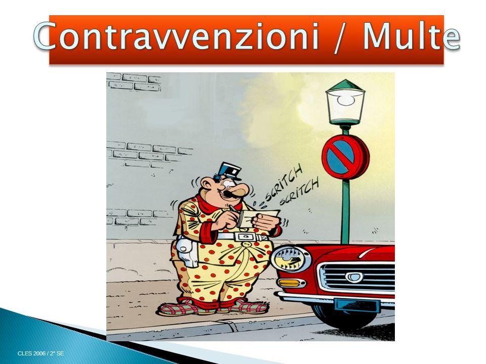 Contravvenzioni / Multe
