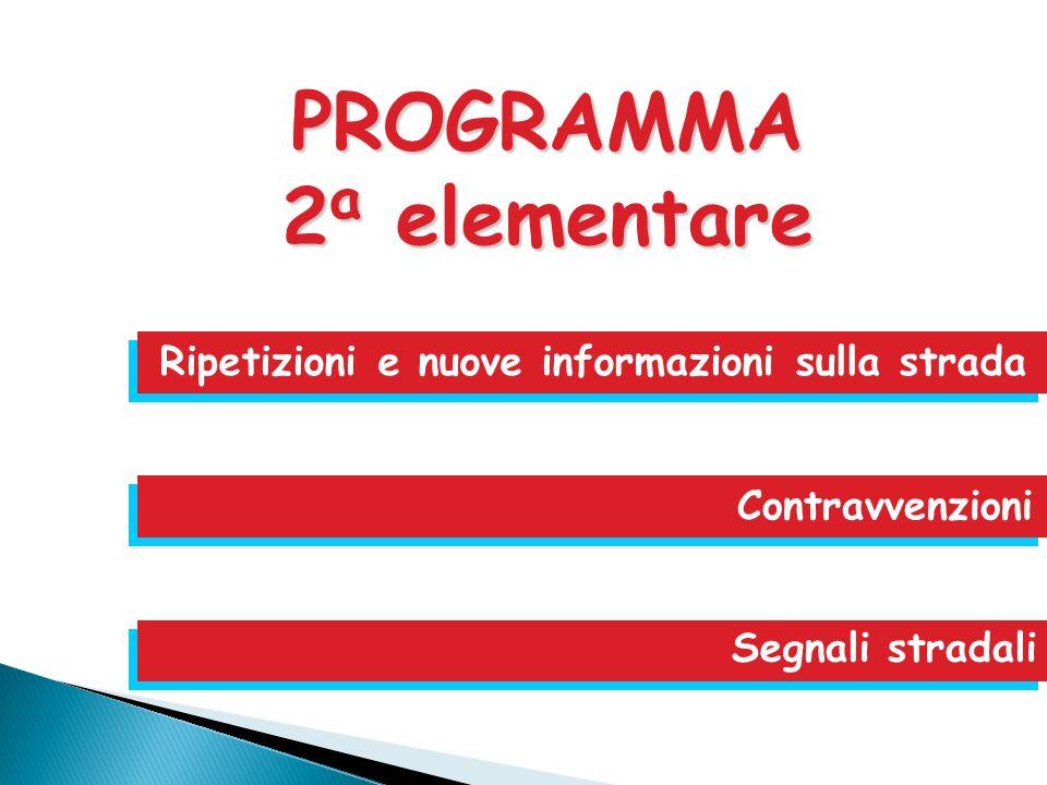 PROGRAMMA 2a elementare