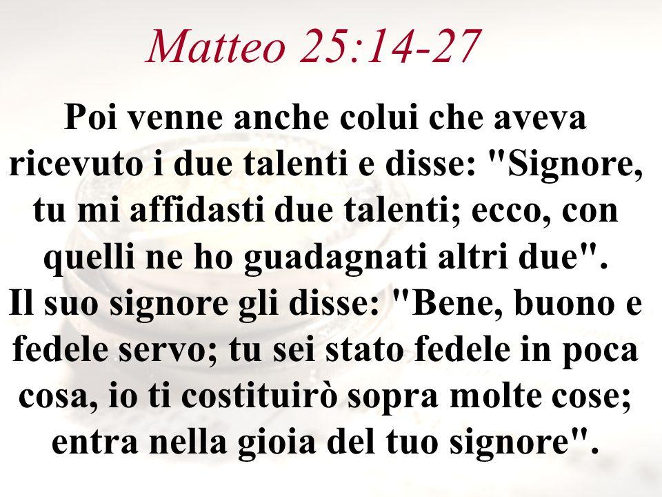 Matteo 25:14-27