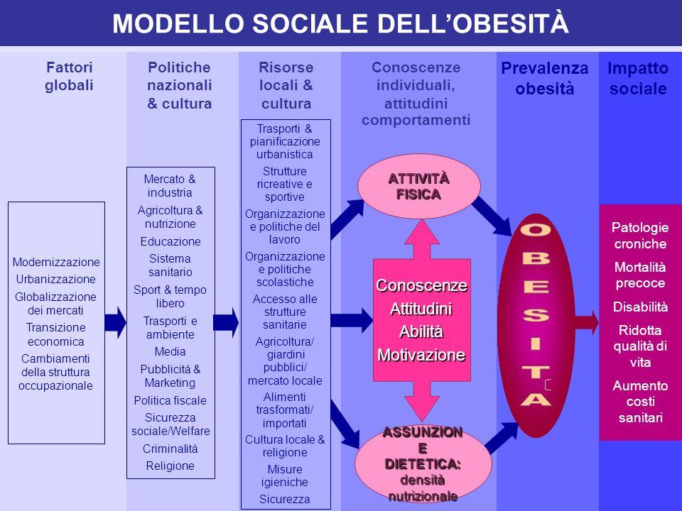 MODELLO SOCIALE DELL'OBESITÀ