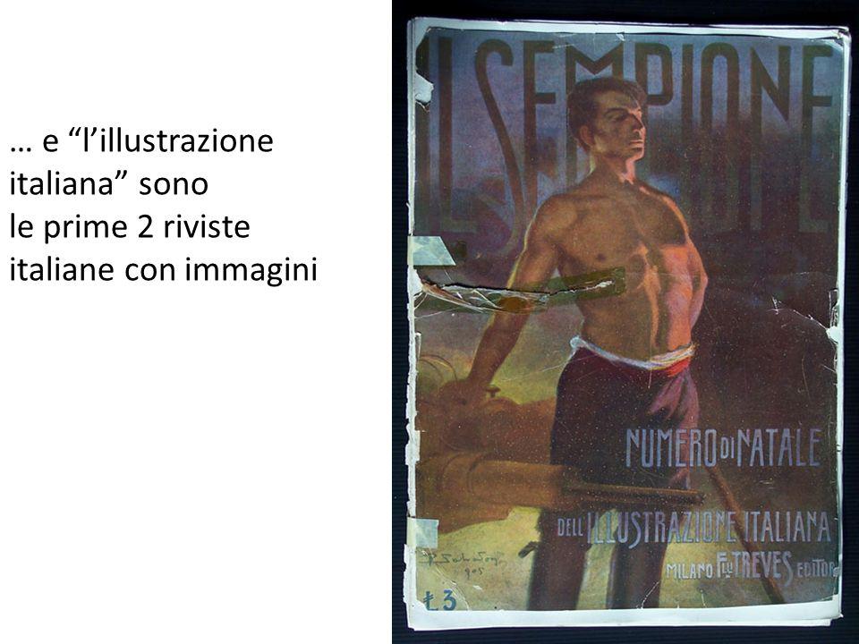 … e l'illustrazione italiana sono