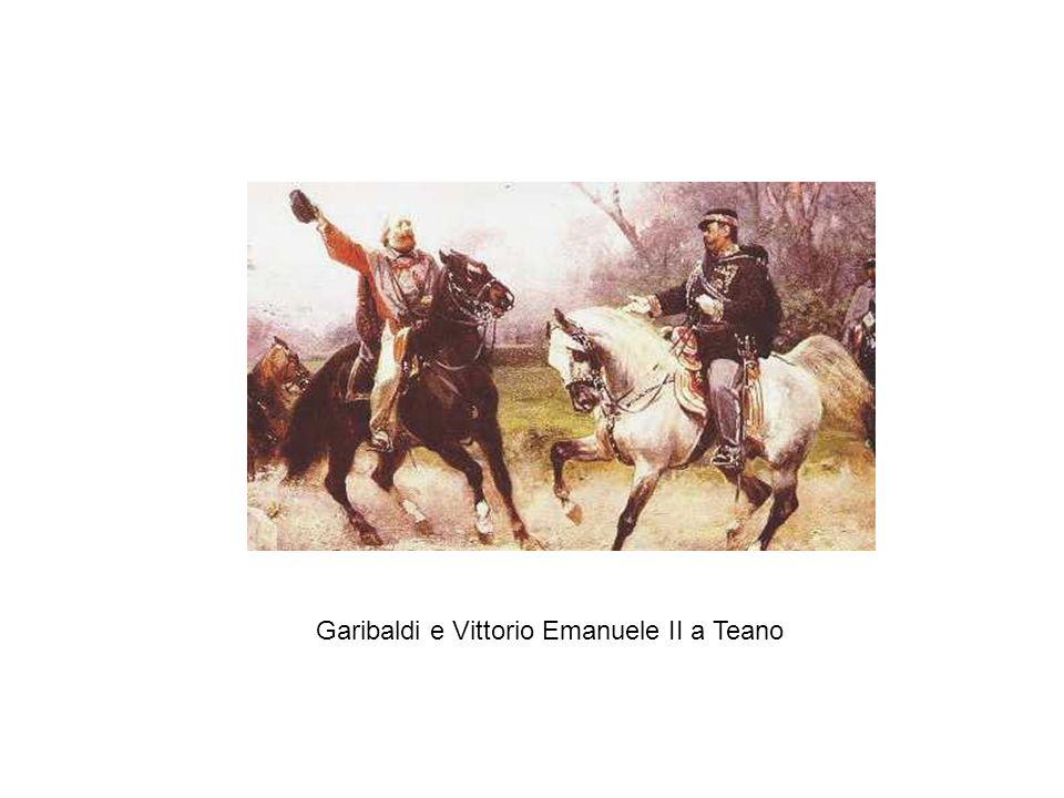Garibaldi e Vittorio Emanuele II a Teano