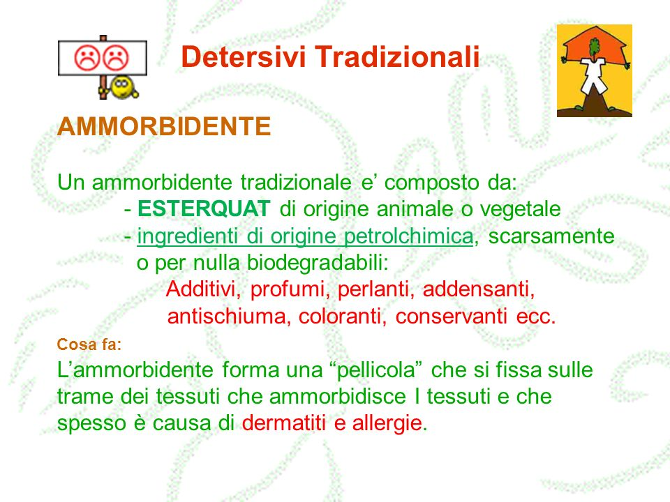 Detersivi Tradizionali