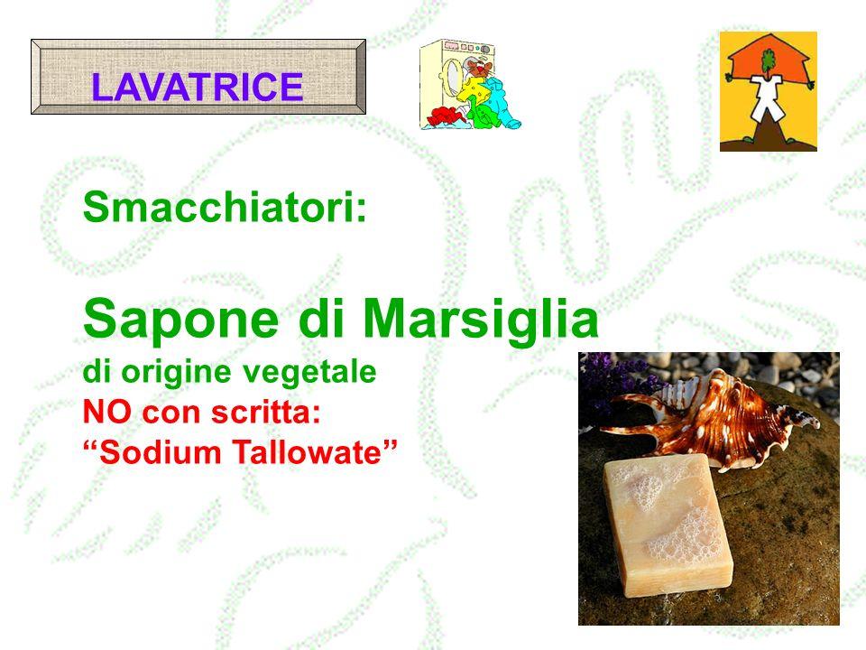 Sapone di Marsiglia Smacchiatori: LAVATRICE di origine vegetale