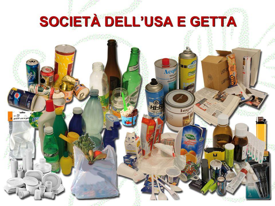 SOCIETÀ DELL'USA E GETTA